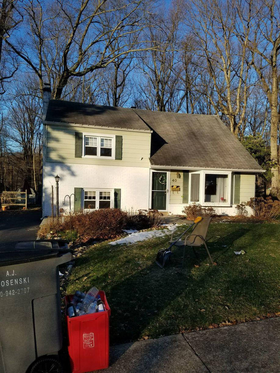 Malvern, Owens Corning Roof Replacement - Before Photo
