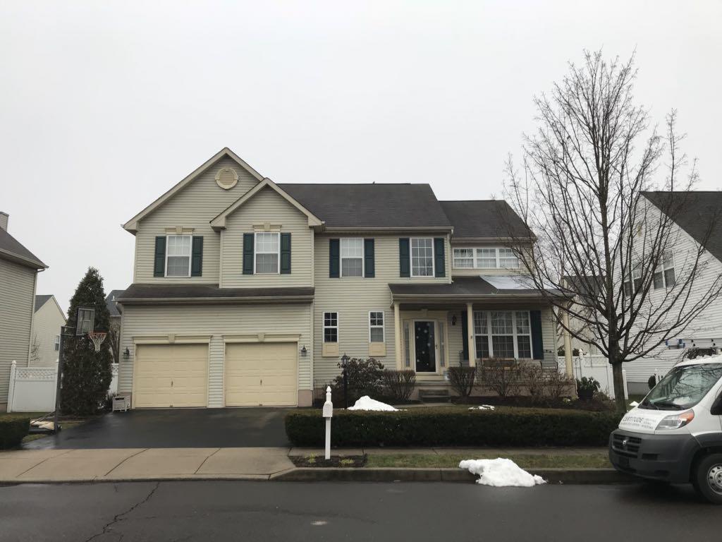 Certainteed Landmark Pro Roof Replacement in Schwenksville PA - Before Photo