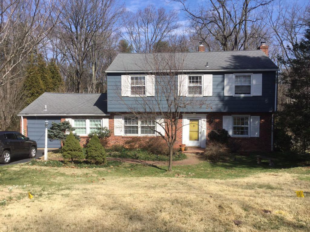 Certainteed CedarBoards Siding and Anderson Fibrex Windows Replacement in Phoenixville PA - Before Photo