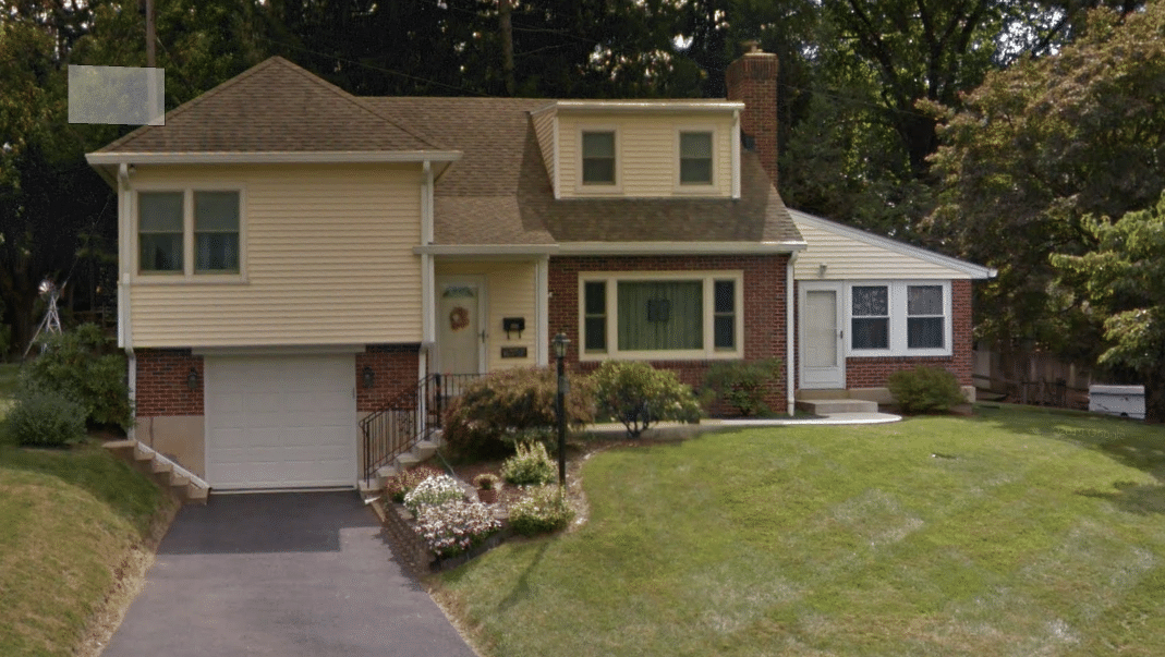 Work Completed in Allentown, PA - Before Photo