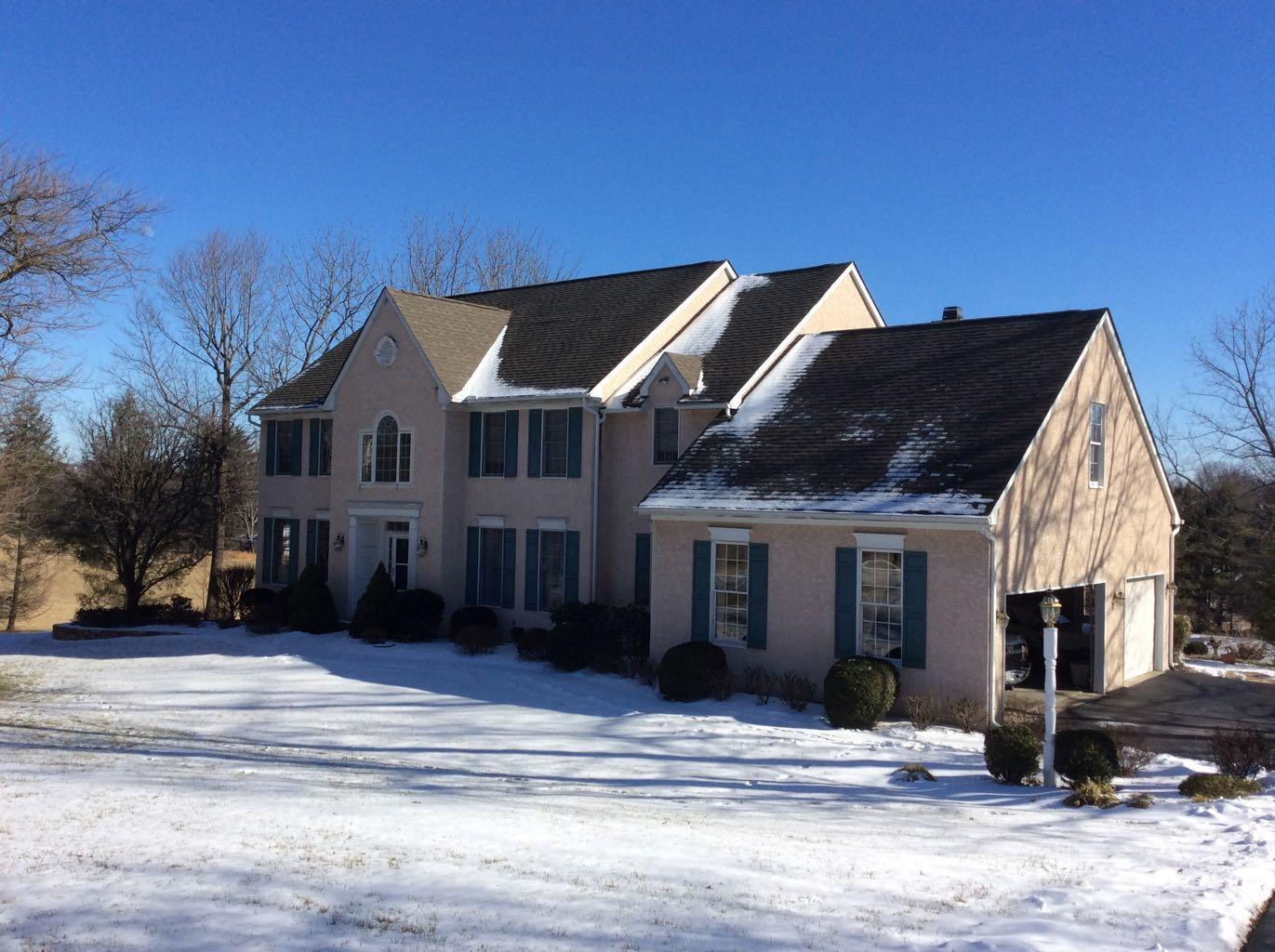 Roof Replacement in West Chester, PA - Before Photo