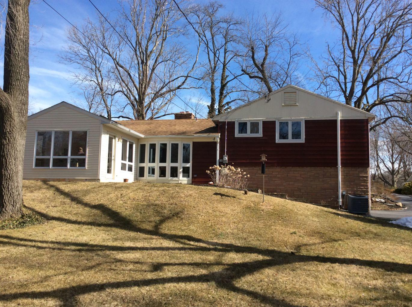 Roofing and Siding replacement in Paoli - Like a new house! - Before Photo