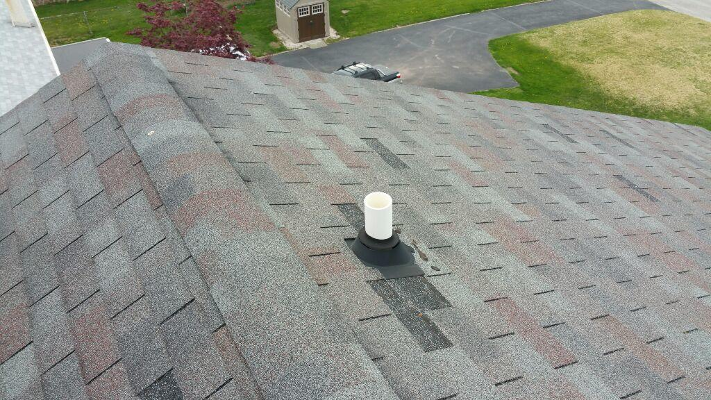 Roof Leak Repair - Pipe Collar in Phoenixville, PA - Before Photo