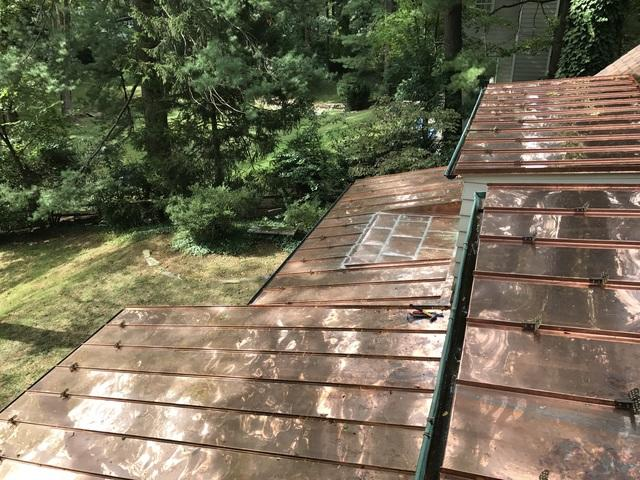 Bryn Mawr - Certainteed Landmark Shingles and Copper Standing Seam Roof