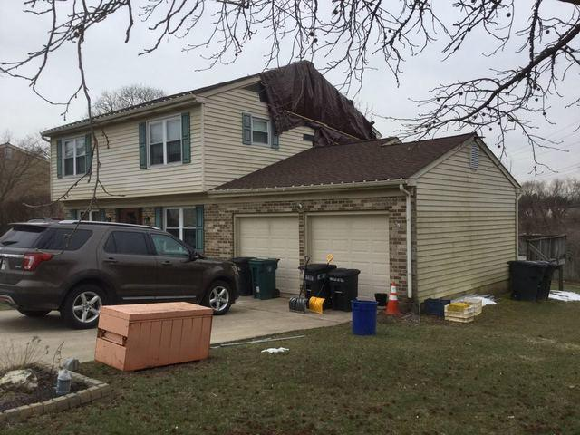 Storm Damaged home in Plymouth Meeting Pa Replaces Siding Capping and Gutters!