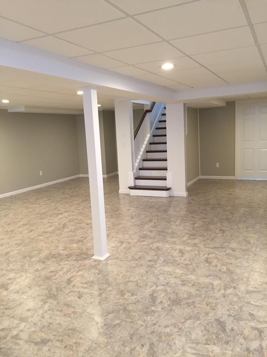 Complete Basement Remodel With Custom Staircase in Sharon Springs, NY - After Photo