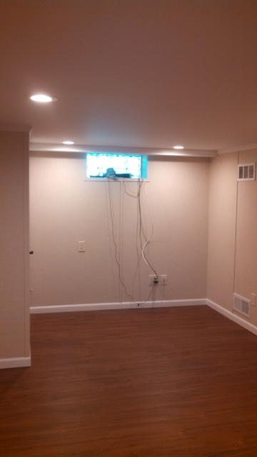 Uninviting Basement Bedroom is Brightened in Albany, NY - After Photo