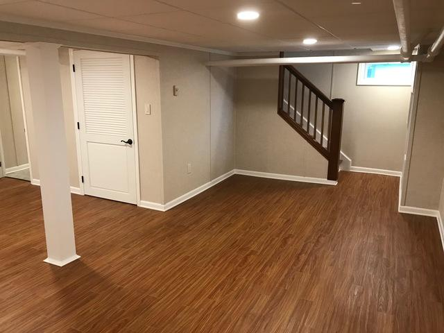 Basement Transformation in Albany, New York