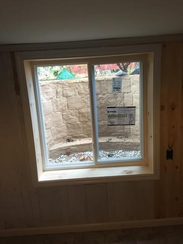 Egress Window Installation in Upstate NY Home