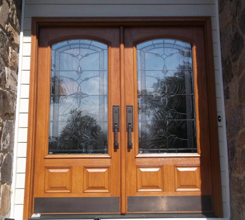 Therma Tru Doors Installed in Harrison, New York - After Photo
