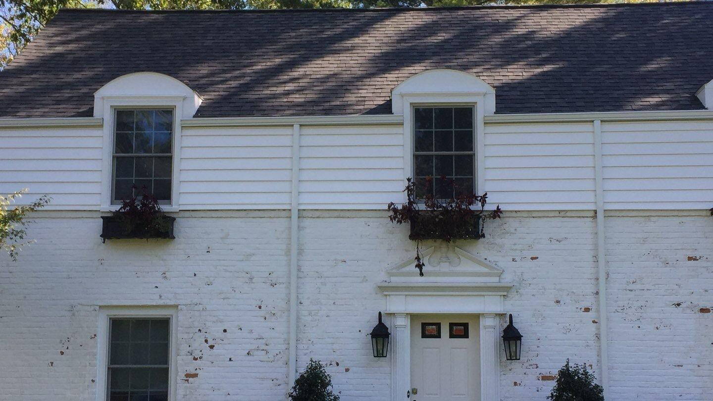 A new exterior remodel  for this 1946 home in Scarsdale, NY - After Photo