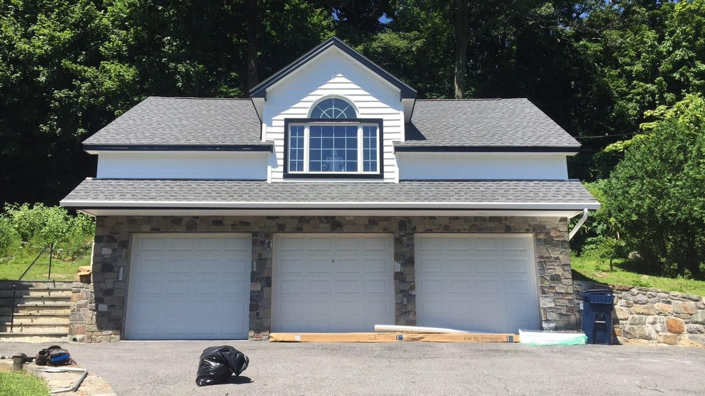 Cedar Board Siding Replacement in Mahaopac, NY - After Photo