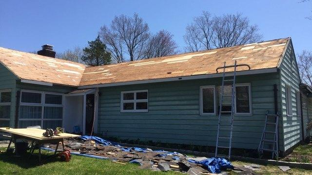 A Gorgeous New Roof Installed in White Plains, NY - Before Photo