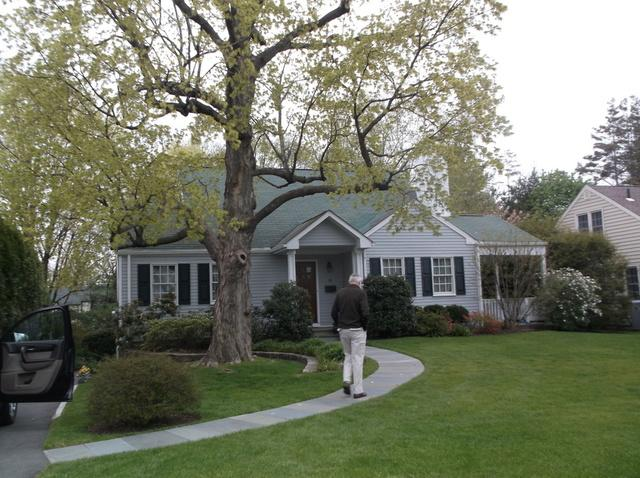 CertainTeed Independence Charcoal Black Shingle Roof Replacement in White Plains, NY - Before Photo
