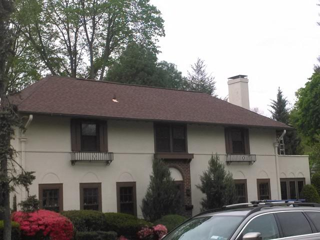 CertainTeed Landmark Burnt Sienna Roof Replacement in Scarsdale, NY - After Photo