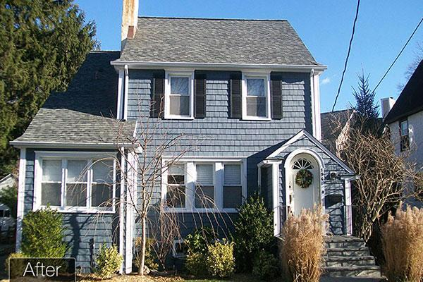 Vinyl Shake Siding Replacemnet in Larchmont, NY