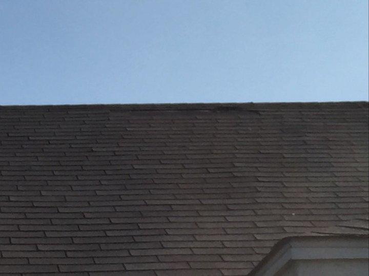 Shingle Repair in Wichita Falls, TX - Before Photo