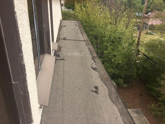 Roof Replacement in North Richland Hills, TX - Before Photo