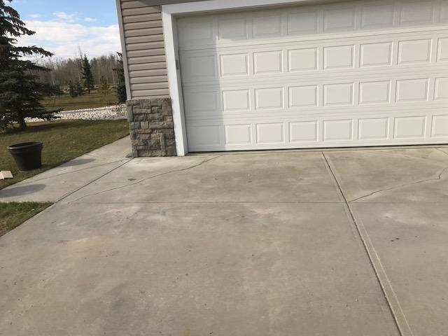 Lifting and Leveling of Sunken Driveway in Strathcona County, AB - After Photo