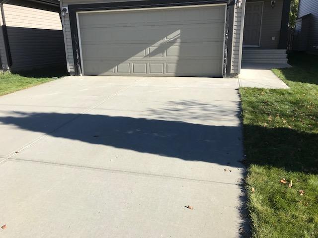 Lifting and Leveling of Driveway in Edmonton, AB - After Photo