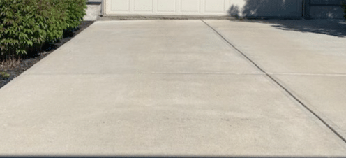 Driveway Leveling and Crack Repair in Edmonton, AB - After Photo