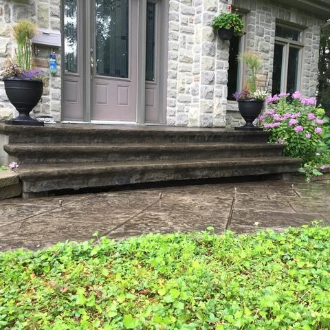 Dangerous Step in Gatineau, QC - Before Photo
