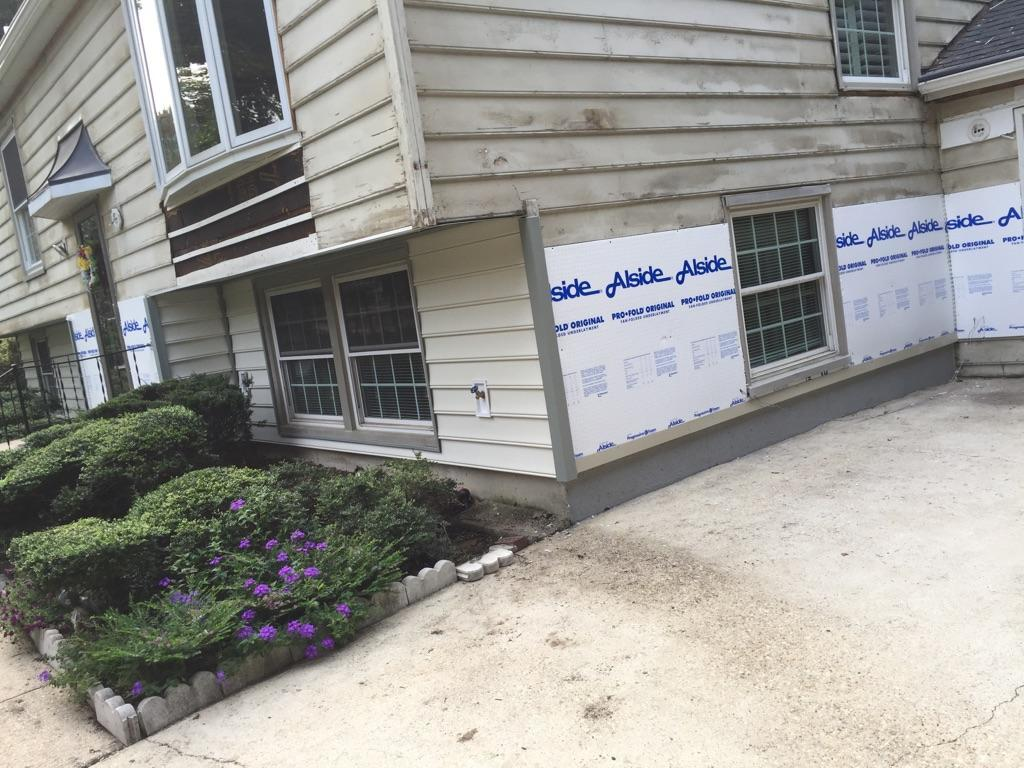 Siding Replacement in Crofton, MD - Before Photo