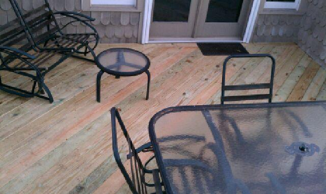 Leaking Deck Roofing Repair and Resurfacing in Bethesda, MD - After Photo