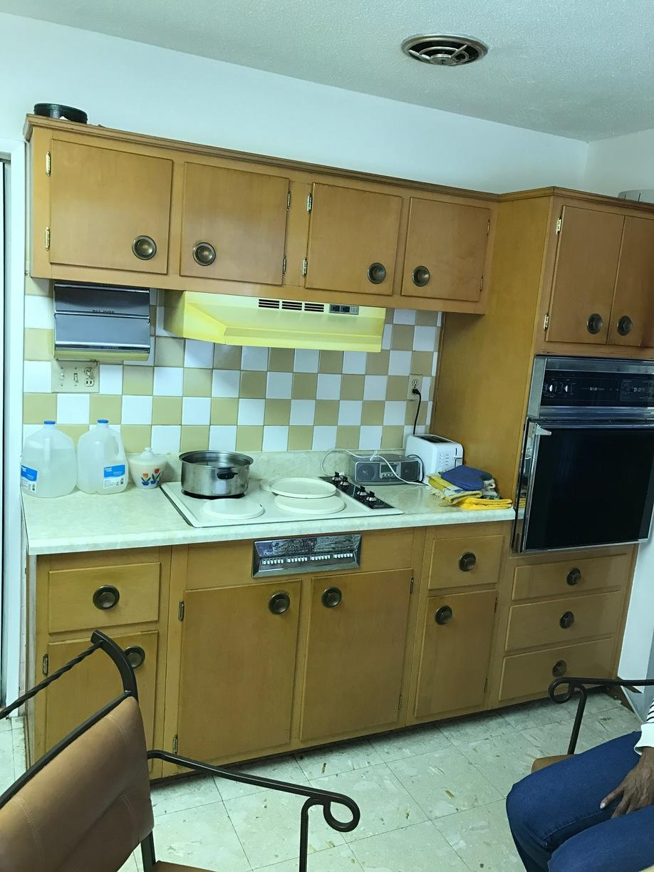 Kitchen Remodel in Silver Spring, MD - Before Photo