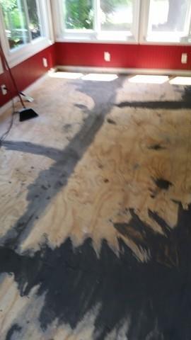 Flooring Project in Lothian, MD
