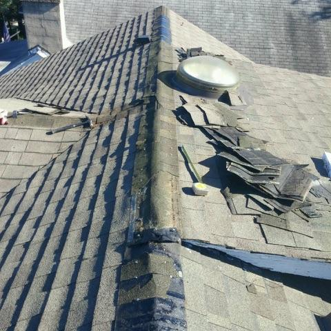 Roof Replacement in Takoma Park, MD - Before Photo