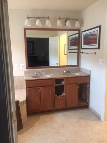 New Vanity and Look for Master Bath in Hanover, MD