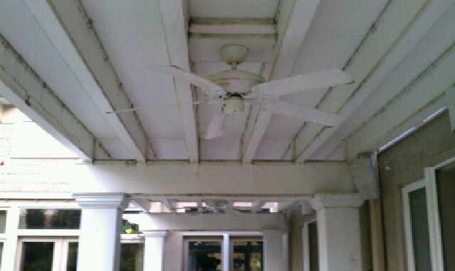 Pergula Restoration in Bethesda, MD - Before Photo
