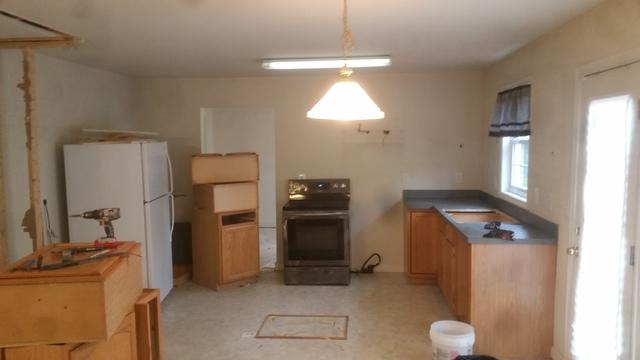 Kitchen Before and After in Pasadena, MD