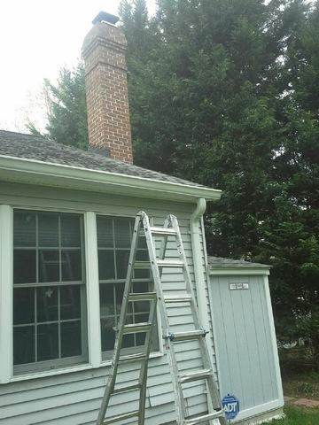 Siding Replacement in Annapolis, MD - Before Photo
