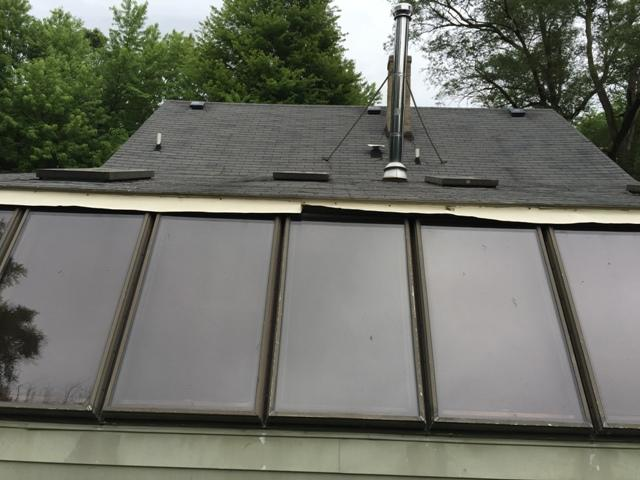 Skylight Replacement - Before Photo