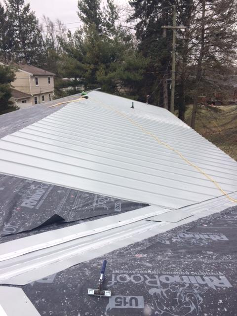 Metal Roof Installation in Belleville, Michigan - After Photo