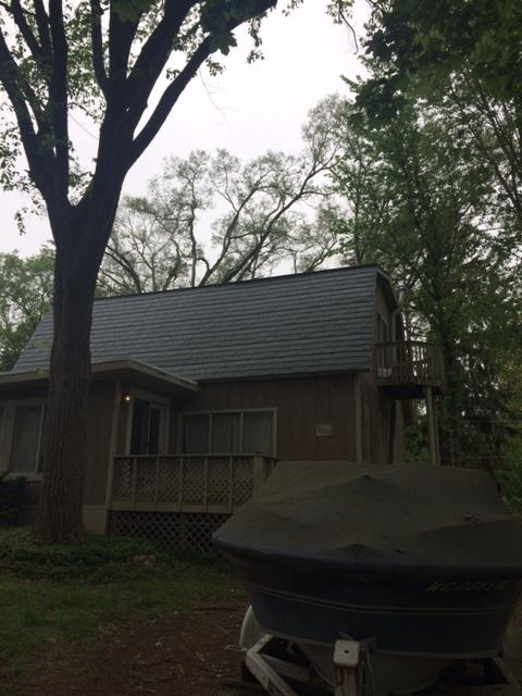 Slate Metal Roof Replacement in Pinckney, MI - After Photo