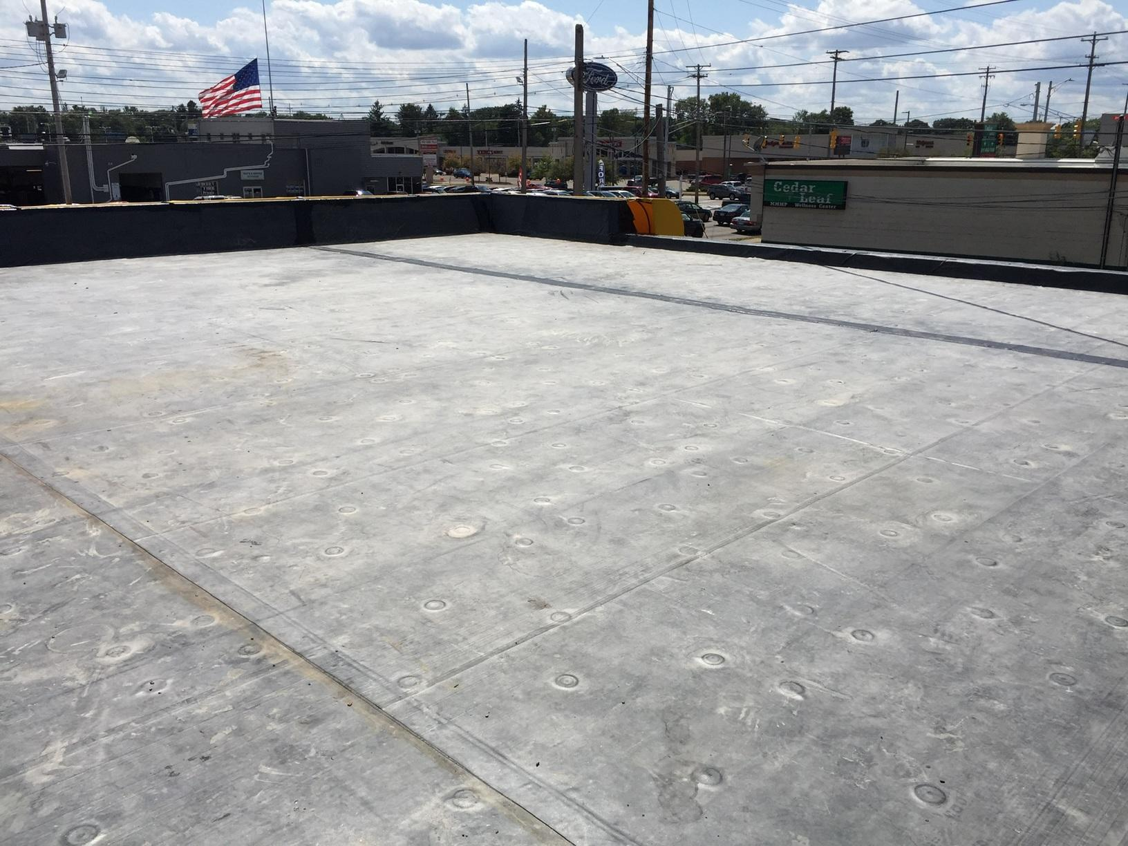 Commercial Roof Replacement in Lansing, MI - After Photo