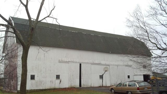 Metal Roof Replacement on Mason Barn