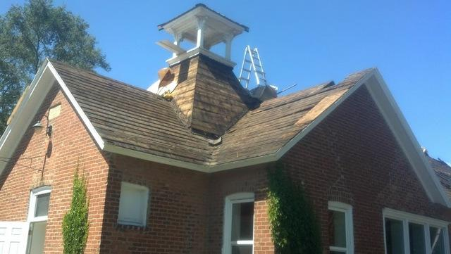 Metal Roofing Restores Charm