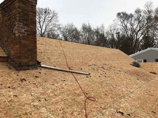 New Roof Installation in East Lansing, Michigan