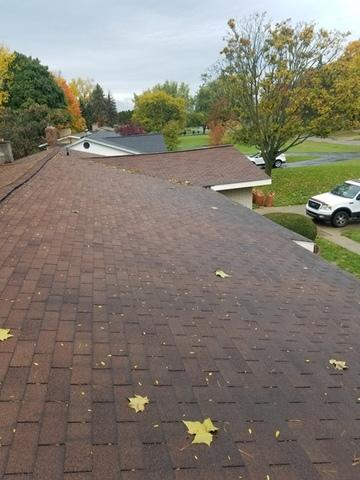 Metal Roof Installation in Belleville, Michigan - Before Photo