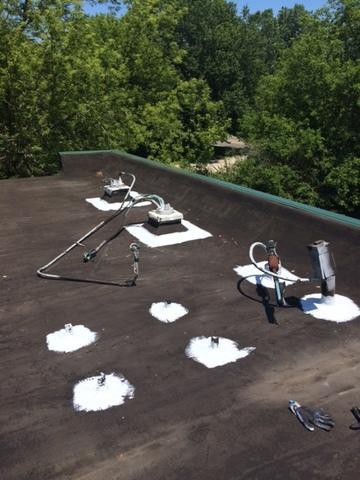 Flat Roof Repair in Holt, MI