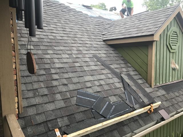 Roof Replacement on a Unique Home in Haslett