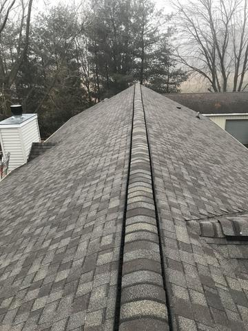 Complete roof replacement in Mason, Michigan