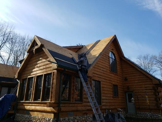 Complete re-roof in Stockbridge, MI