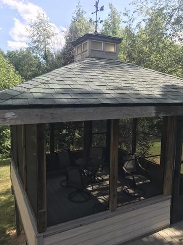 Complete roof remodel in Perry, MI