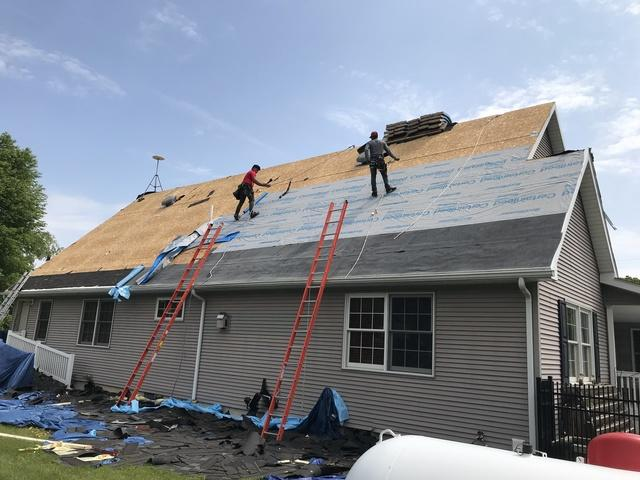 Complete Re-Roof in Bath, MI