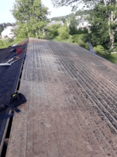 Partial Roof Replacement in Bath, MI